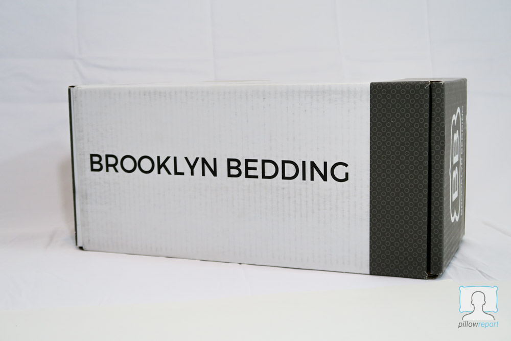 Brooklyn Bedding pillow review box