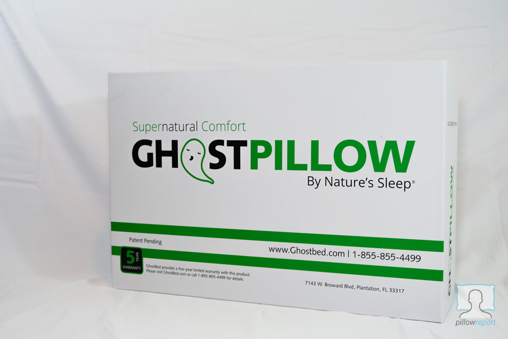 Ghost Pillow Review box