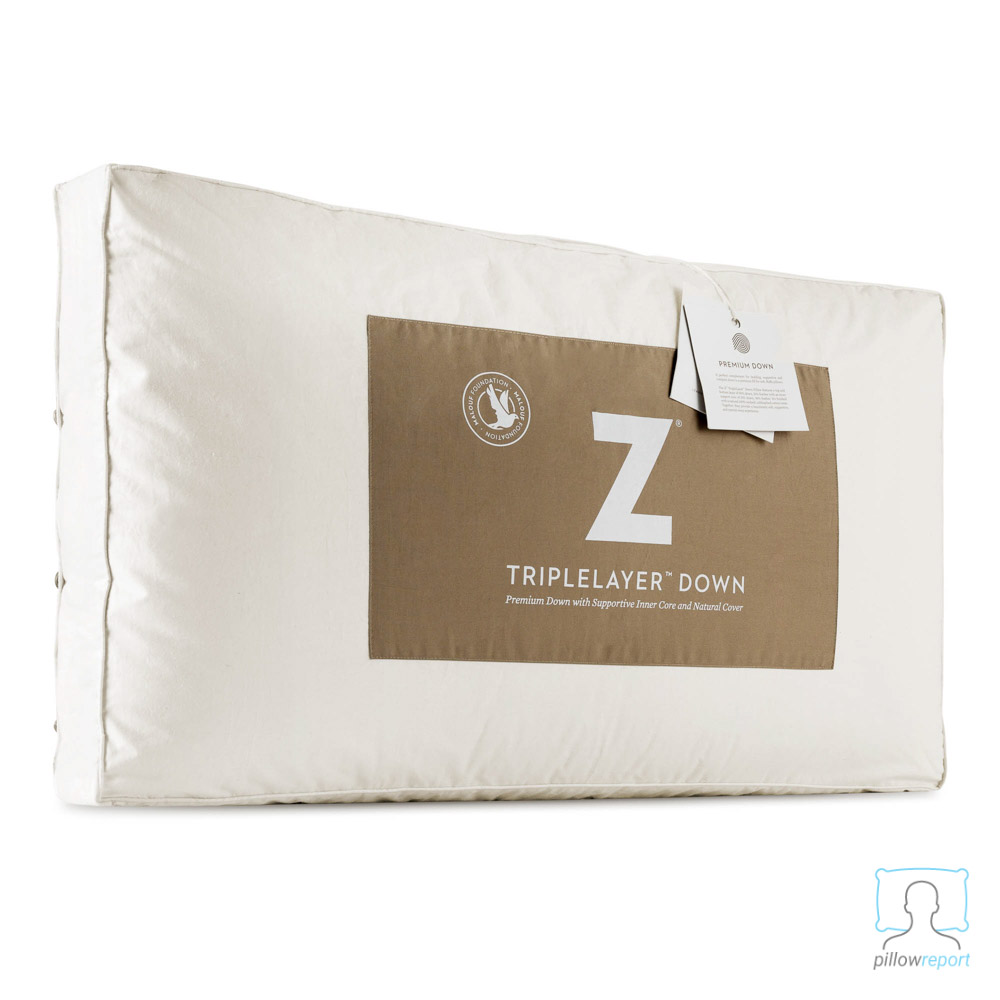 Malouf Triplelayer down pillow review